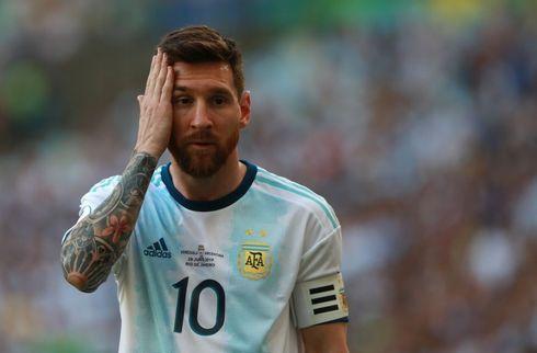 CONMEBOL udelukker Messi i tre måneder
