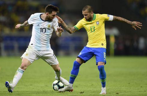 Messi gjorde forskellen mod uskarpe Brasilien