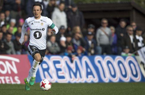 Mike J. fik en halvleg i stor Rosenborg-sejr