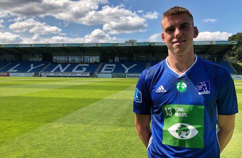Efter 11 SL-kampe: Lyngby-back udtaget til U21
