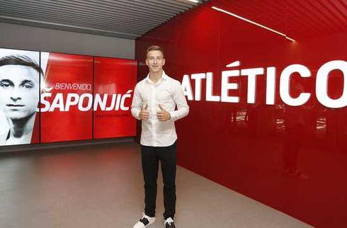 Atletico henter serbisk angriber i Benfica