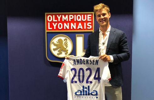 Joachim Andersen bekræfter Spurs-kontakt