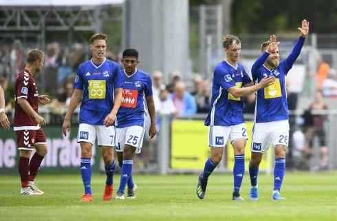 Skarp Gytkjær sikrede Lyngby drømmestart
