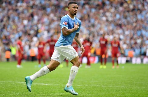 Manchester City-spids ude med forstrækning