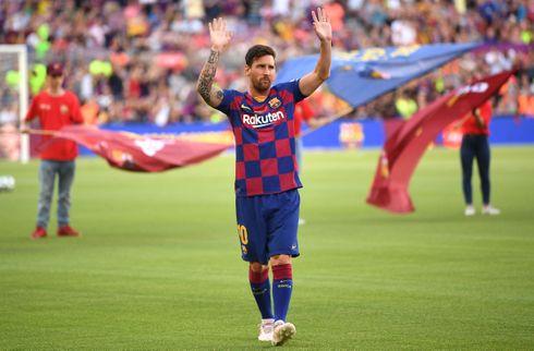 Messi: Bliver i Barca så længe jeg gør forskel