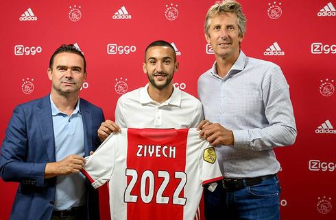 Ajax-scoop: Hakim Ziyech forlænger til 2022