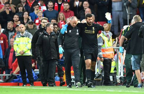 Alisson træner igen - men Liverpool passer på