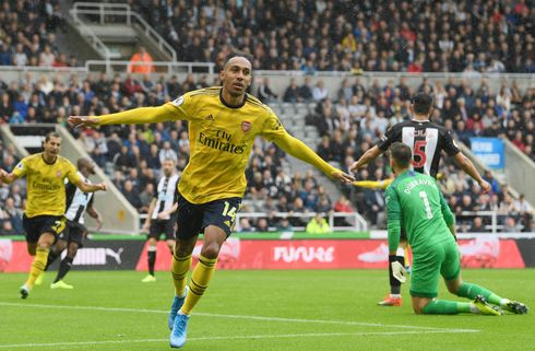Aubameyang prikkede tre point til Arsenal