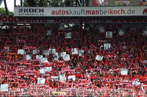 Union Berlin hyldede afdøde fans i BL-debut