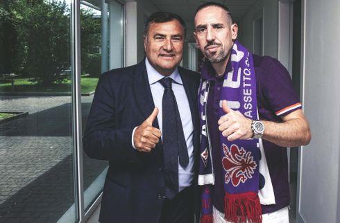 Fiorentina-direktør takker Riberys kone