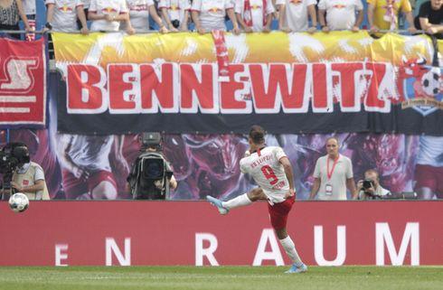 Smuk Poulsen-flugter sikrede RB Leipzig-sejr