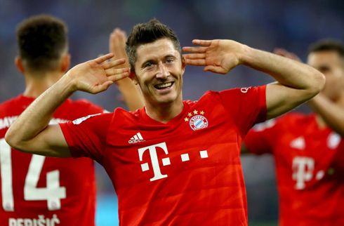 Lewandowski sender stikpille til Dortmund