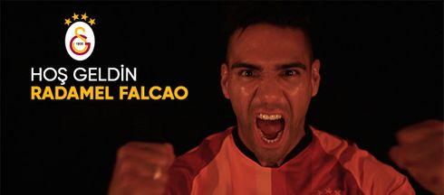 Officielt: Gratis Falcao får tre år i Galatasaray