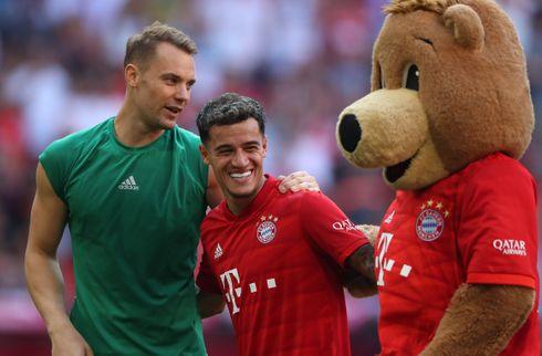 Ter Stegen: Jeg håber Coutinho har det sjovt