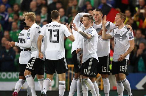 Tyskland rykkede over Nordirland med sejr