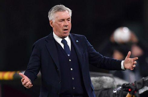 Hidsig Ancelotti raser over ufærdige faciliteter