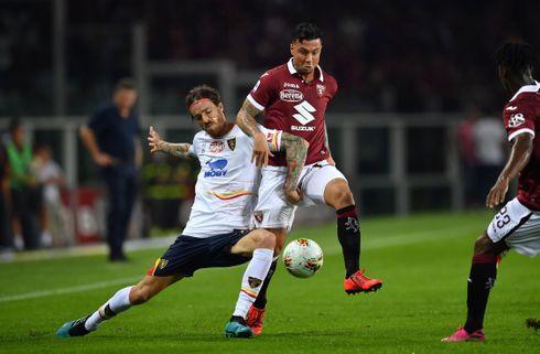 Første sejr: Lecce tog alle tre point i Torino
