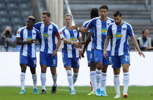 Hertha kom flot tilbage mod Düsseldorf