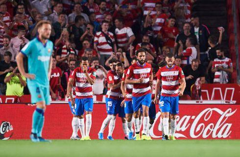 Barca skuffede på ny: Granada topper La Liga
