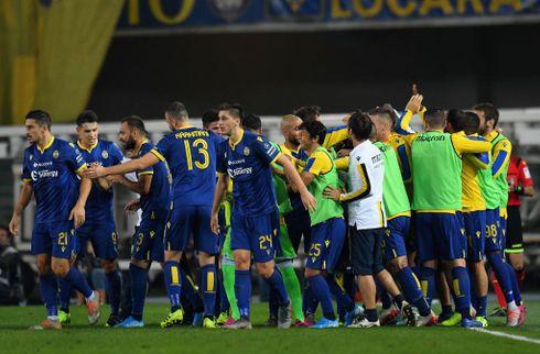 Skarpe Verona forværrede Sampdorias krise