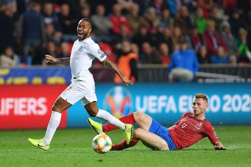 Tjekkisk triumf stoppede Englands stime