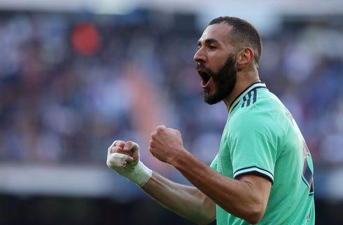 Real Madrid sejrede trods rødt kort