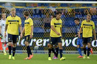 Brøndby igen dukket af Brugge