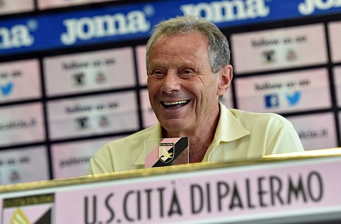 Palermo -Zamparini får fem års fodboldkarantæne