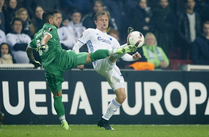 Europa League -Rumænsk bomber løber med EL-hæder